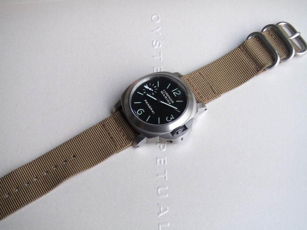 panerai - Bracelet Velcro Panerai 177barbie1